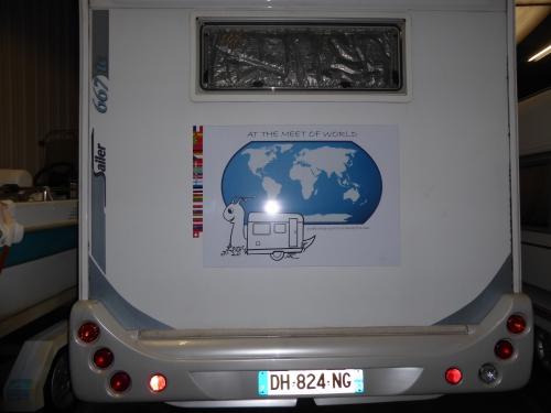 tour du monde en camping car 2016, preparatif